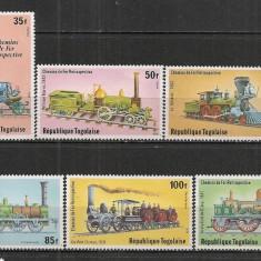Togo.1979 Locomotive ST.684 - Timbre straine, Nestampilat