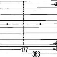 Lampa spate - HELLA 2SK 004 460-037