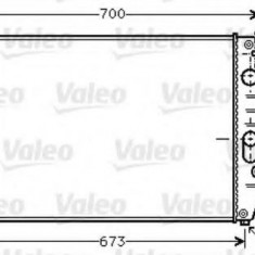Radiator, racire motor IVECO DAILY II platou / sasiu 30-8 - VALEO 733409 - Radiator racire Bosch