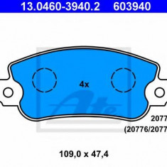 Placute frana REINZ FIAT STRADA I 60 1.0 - ATE 13.0460-3940.2