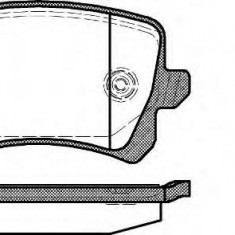 Placute frana Trw VW PASSAT 1.4 TSI - ROADHOUSE 21342.00