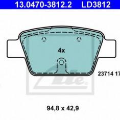 Placute frana REINZ FIAT RITMO III 1.4 16V - ATE 13.0470-3812.2