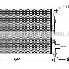 Radiator, racire motor MERCEDES-BENZ A-CLASS A 140 - AVA QUALITY COOLING MSA2282