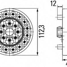 Lampa spate - HELLA 2SD 009 362-201