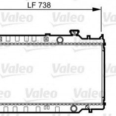 Radiator, racire motor MAZDA TELSTAR IV hatchback 2.0 D GLX Comprex - VALEO 731417 - Radiator racire Bosch