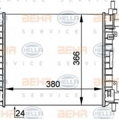 Radiator, racire motor FORD KA 1.3 i - HELLA 8MK 376 714-251 - Radiator racire LuK