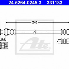Furtun frana REINZ TOYOTA CELICA 1.8 16V VT-i - ATE 24.5264-0245.3