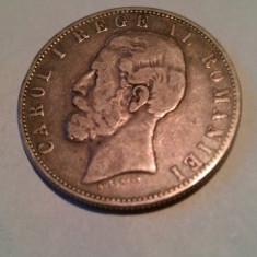 MONEDA 5 LEI 1881 CAROL I - Moneda Romania