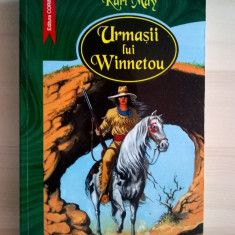 Karl May - Urmasii lui Winnetou - Carte de aventura