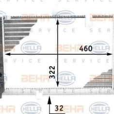 Radiator, racire motor LANCIA PRISMA 1.6 i.e. Super - HELLA 8MK 376 713-481 - Radiator racire LuK