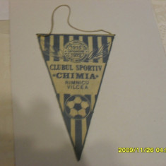 Fanion C.S. Chimia Rm. Vilcea - Fanion fotbal
