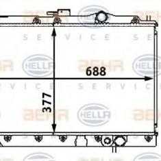Radiator, racire motor MITSUBISHI GALANT Mk IV limuzina 1.8 - HELLA 8MK 376 708-111 - Radiator racire LuK