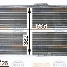 Radiator, racire motor DAEWOO ESPERO limuzina 2.0 - HELLA 8MK 376 705-581 - Radiator racire LuK
