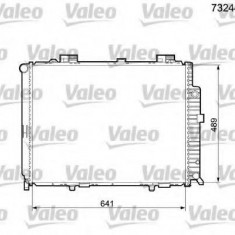 Radiator, racire motor MERCEDES-BENZ E-CLASS limuzina E 430 4-matic - VALEO 732446 - Radiator racire Bosch