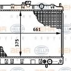 Radiator, racire motor MITSUBISHI CHARIOT 1.8 - HELLA 8MK 376 708-641 - Radiator racire LuK