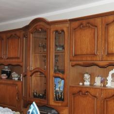 Mobila sufragerie din lemn masiv - Set mobila living