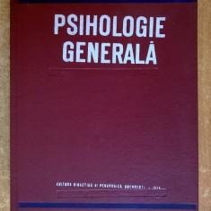 Al. Rosca – Psihologie generala