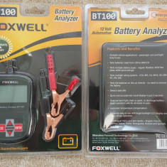 Tester digital baterii  auto FOXWELL BT100 12V Car pt.  Flooded, AGM, GEL