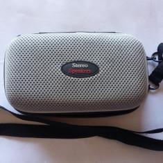 DIFUZOARE PORTABILE STEREO - PORTABLE STEREO SPEAKERS - Boxa portabila