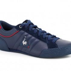 Adidasi LE COQ SPORTIF Escrime nr. 39, InCutie, COD 122 - Adidasi barbati Le Coq Sportif, Culoare: Albastru, Piele naturala