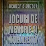 Jocuri de memorie si inteligenta {Reader's Digest}