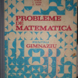 PROBLEME DE MATEMATICA PENTRU GIMNAZIU AN 1985/446PAGINI = PETRICA / ALEXE - Carte Matematica