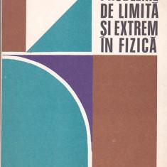 ROMULUS SFICHI - PROBLEME DE LIMITA SI EXTREM IN FIZICA