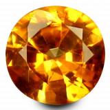 * Piatra naturala Granat Spessartin Orange - 0.67 ct - certificat