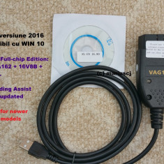 Interfata diagnoza HQ VAG COM VCDS 16.8 EN, Full chip , Long Coding, Windows 10