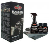 Kit Polish Turtle Wax Black Box Set Polish + Ceara Auto Carnauba - Negru FG6354