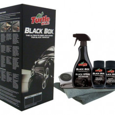 Kit Polish Turtle Wax Black Box Set Polish + Ceara Auto Carnauba - Negru FG6354 - Polish Auto