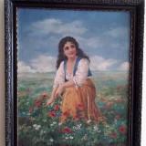 Pictura in ulei Julia Adorjan, 1886 - Pictor roman, Peisaje, Realism