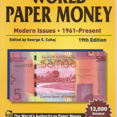 Catalog Standard World Paper Money 1961-prezent, 19th Edition (2013) 1159 pag,