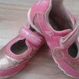 Pantofi copii/ fetite marimea 29, Barbie, cu paiete. - Ghete copii, Culoare: Din imagine