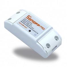 Priza 220V WIFI wireless Sonoff controlata de la distanta Android IOS - Priza si intrerupator