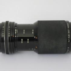 Obiectiv pe montura Rolleiflex SL - Zoom - 80-200mm f4.5 - 8 lamele - Obiectiv DSLR, Manual focus