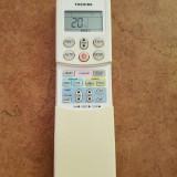 telecomanda aer conditionat   TOSHIBA  .Stare foarte buna ,utilizata .
