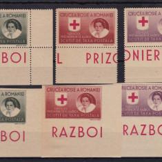 ROMANIA 1946, SERVICIUL PRIZONIERI DE RAZBOI, MNH - Timbre Romania, Nestampilat