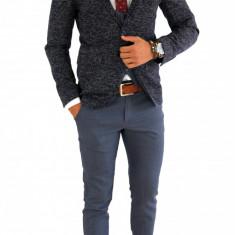Sacou tip Zara Man - sacou barbati - sacou casual office - COLECTIE NOUA 7100, Marime: 50, Culoare: Din imagine