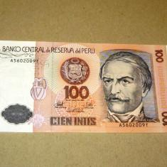 100 intis 1987 Peru 5602009 UNC -2+1 gratis- RBK18344 - bancnota america