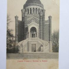 RARA! CARTE POSTALA NECIRCULATA BUFTEA-CAPELA PRINTULUI STIRBEY 1902-1904 - Carte Postala Muntenia pana la 1904, Printata