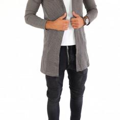 Cardigan tip ZARA fashion - Cardigan barbati - 7105 - Hanorac barbati, Marime: S, Culoare: Din imagine