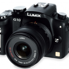 Mirrorless Panasonic Lumix DMC G-10K - KIT - Aparat Foto Mirrorless Panasonic, Kit (cu obiectiv)