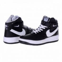 Ghete Nike AIR FORCE ONE UNISEX - PREŢ IMBATABIL - Ghete barbati Nike, Marime: 36, 37, 38, 39, 40, 41, 42, 43, 44, Culoare: Negru, Piele sintetica