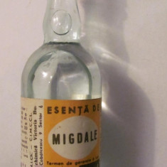 PVM - Sticla veche comunista ESENTA de MIGDALE 1984