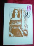 Maxima Ana Ipatescu -portret de Gh.Saru