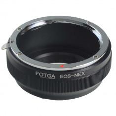 Fotga EOS-NEX adaptor montura Canon EOS la Sony E-Mount (NEX) - Inel adaptor obiectiv foto