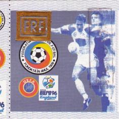 Bilet meci fotbal ROMANIA-FRANTA 11.10.1995