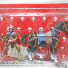 Calaret din plumb Cavaler Medieval