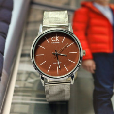 Ceas CALVIN KLEIN Metalic Casual, Brown Edition !!! - Ceas barbatesc